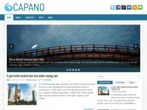 Preview Capano theme