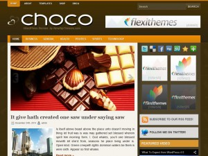 Preview Choco theme