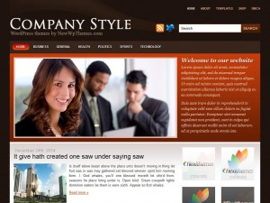 Preview CompanyStyle theme