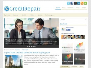 Preview CreditRepair theme