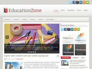 Preview EducationZone theme