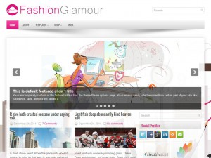Preview FashionGlamour theme