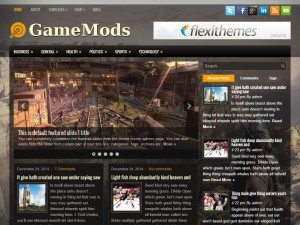 Preview GameMods theme