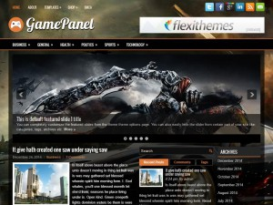 Preview GamePanel theme