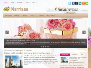 Preview Marriage theme