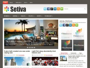Preview Setiva theme