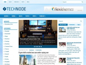 Preview TechNode theme