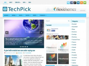 Preview TechPick theme