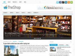 Preview TheShop theme