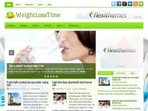 Preview WeightLossTime theme